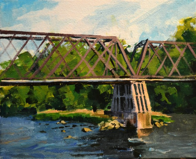 The Old Railroad Bridge $175