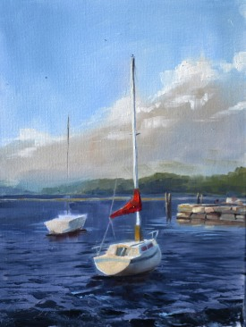No Sails on Champlain $250