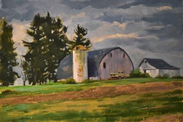 Shining Farm on the Hill $350