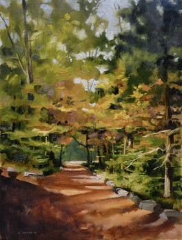 Justin's Dappled Path $850